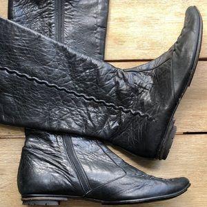 EUC Soft grain Italian leather boots by Fabi